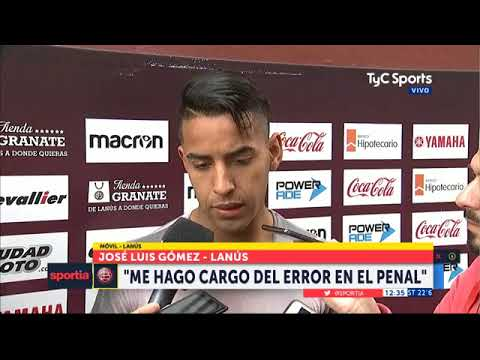 José Luis Gómez habló de su error y el accidente