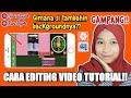 CARA EDITING BACKGROUND UNTUK VIDEO TUTORIAL!! #KineMaster || Riri Fajrh