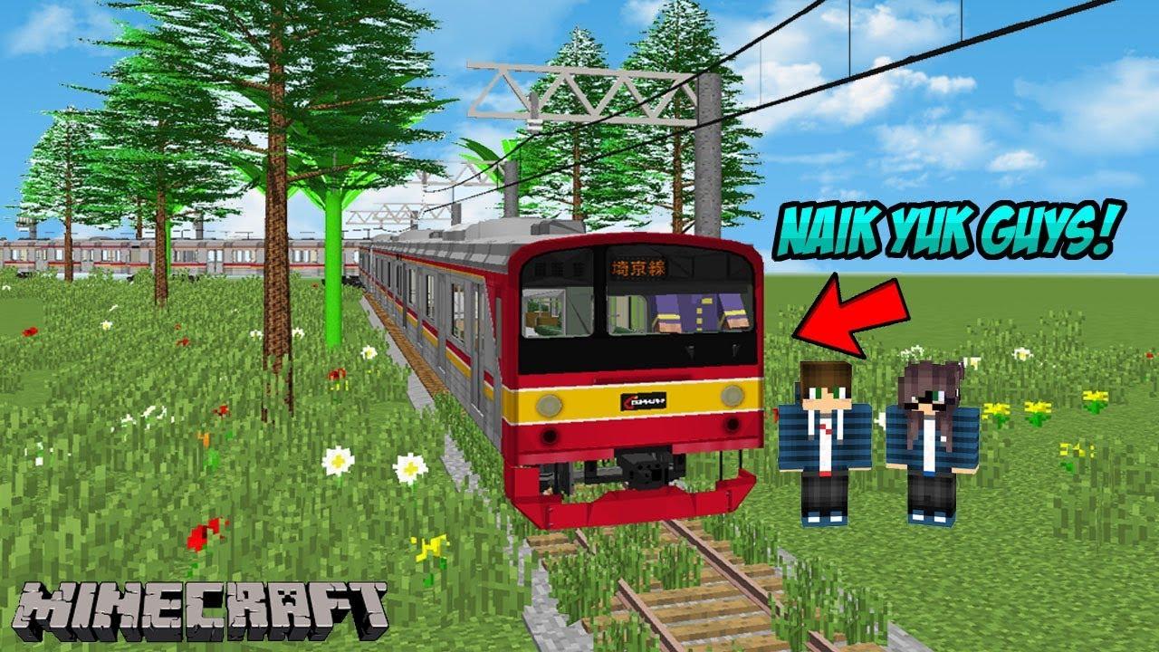 Gambar Kereta Api Minecraft Video Minecraft Kereta Micro Usb P