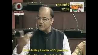 Internet Censorship: Sh. Arun Jaitley: 17.05.2012: LQ