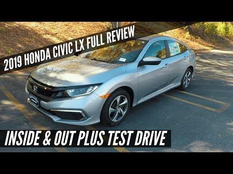 2019 Honda Civic LX Full Review - It Finally Has Honda Sensing