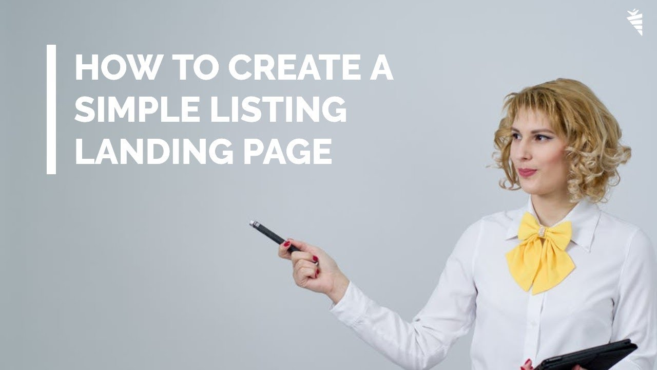 landing page buyer leads