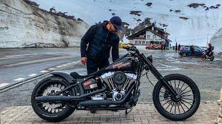 Harley-Davidson FXSB Breakout Custom - Как поздравить с Днем