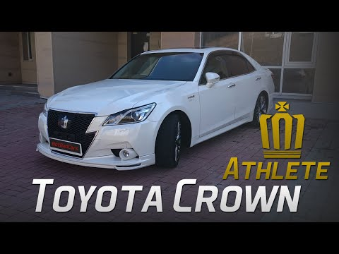 Полный обзор Toyota Crown Athlete G 2013 (s210)