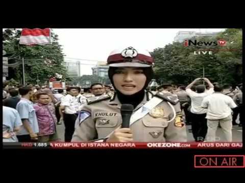 Aksi Damai 4 November 2016 ☮ ✌ ~ LIVE ~ Jakarta - Indonesia