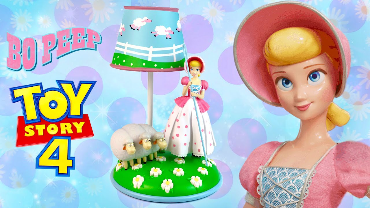 BRAND NEW  Toy Story 4 Bo Peep and Sheep Lamp