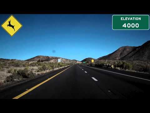 I-40 East (AZ), Blazing Across The Arizona Desert, Mile 73 To Mile 97