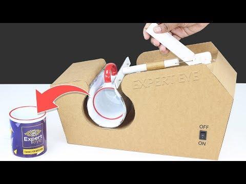 How To Make Mug Printing Machine From Cardboard ! DIY Mug Print