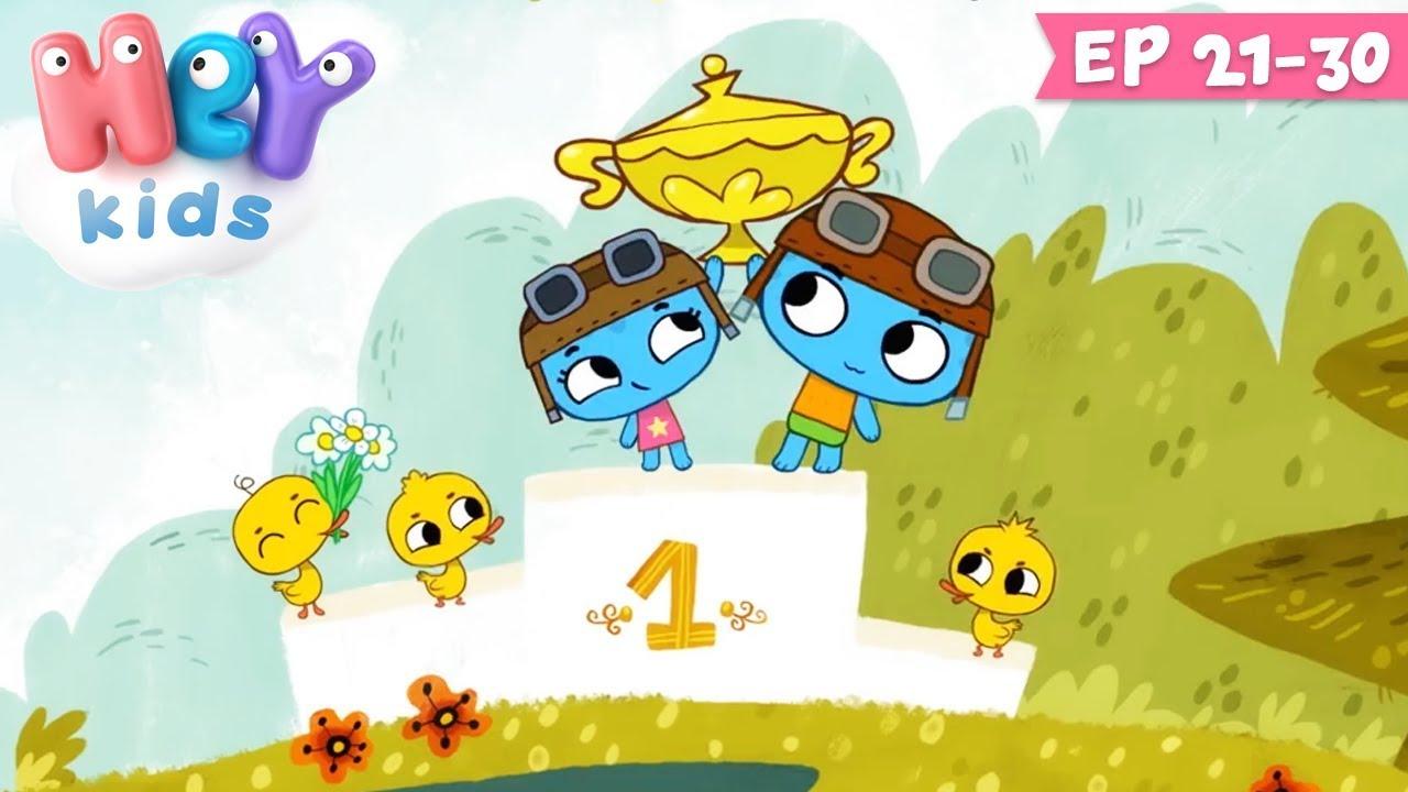 Desene animate pentru copii - KIT si KEIT | Colaj ep. 21-30 | HeyKids