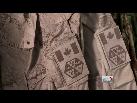 Global National - Can this fabric make soldiers invisible?