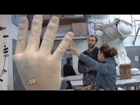 The making of WWE's Andre the Giant statue