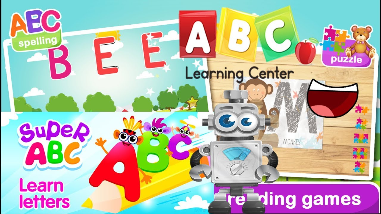 Abc Coloring Puzzles, Preschool Games For Kids