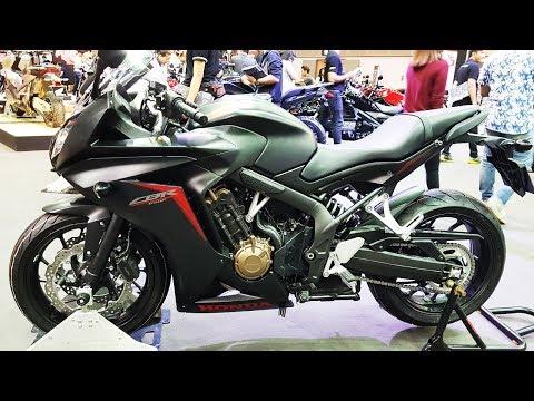 Honda CBR650F Black
