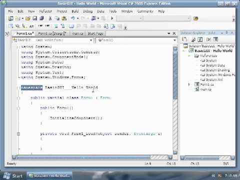 Pt. 2- 06 - BasicGUI - Part 1
