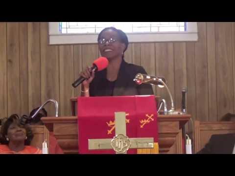 """Dr. Telika McCoy preaching, """"God's Benefit Plan""""   3/26/17"""