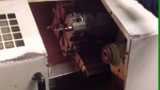 Cleveland/Yama Seiki Model GLL-2 CNC Lathe, Fanuc O-t Control- For Auction.wmv
