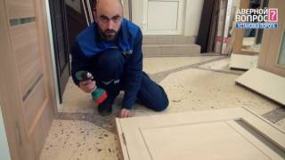 Как правильно установить дверной порог Installation of door threshold unidoors DIY