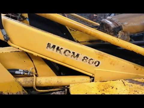 МКСМ 800 ремонт дизельного мотора.