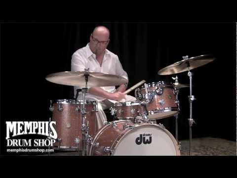 DW Jazz Series Drum Set - Champagne Glass - Played by Billy Ward