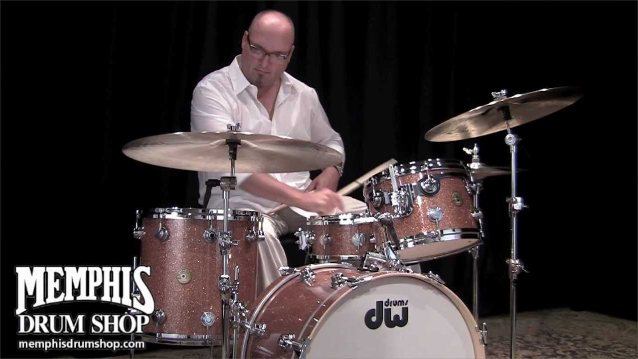 Dw Jazz Series Drum Set Champagne Glass Played By