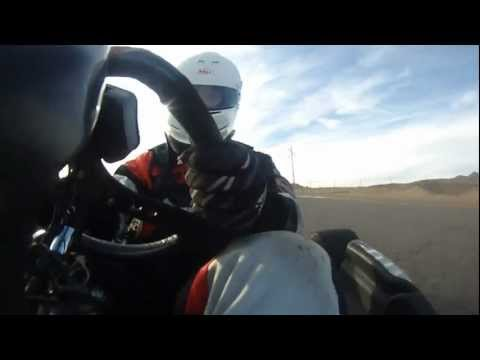 Karting at Grand Junction Motor Speedway on a Rotax, Filmed with a Contour Roam
