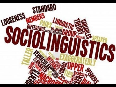 Sociolinguistics?