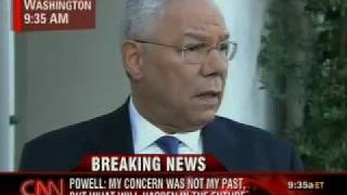 Colin Powell Discusses His Endorsement of Barack Obama
