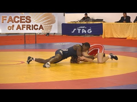 Faces of Africa— Female wrestlers of Senegal - part 1 11/06/2016
