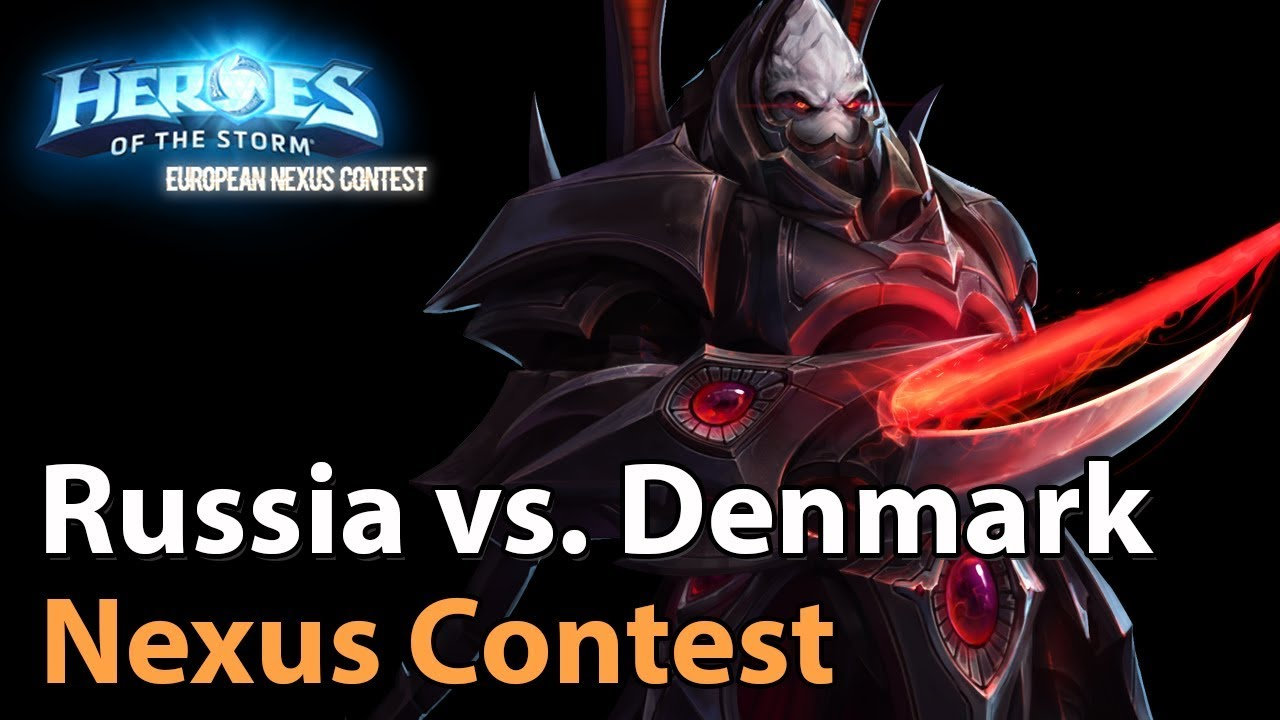 ► Heroes of the Storm Nations Cup: Russia vs. Denmark - Quarterfinals