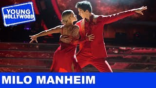 DWTS's Milo Manheim Spills About Teaching The Kardashians to Play Poker!