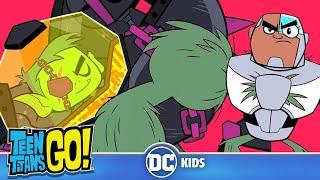 Teen Titans Go! En Español | La Hora de la Hombría | DC Kids