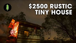 $2500 Tiny House Build & Tour - With Geodesic Dome Window
