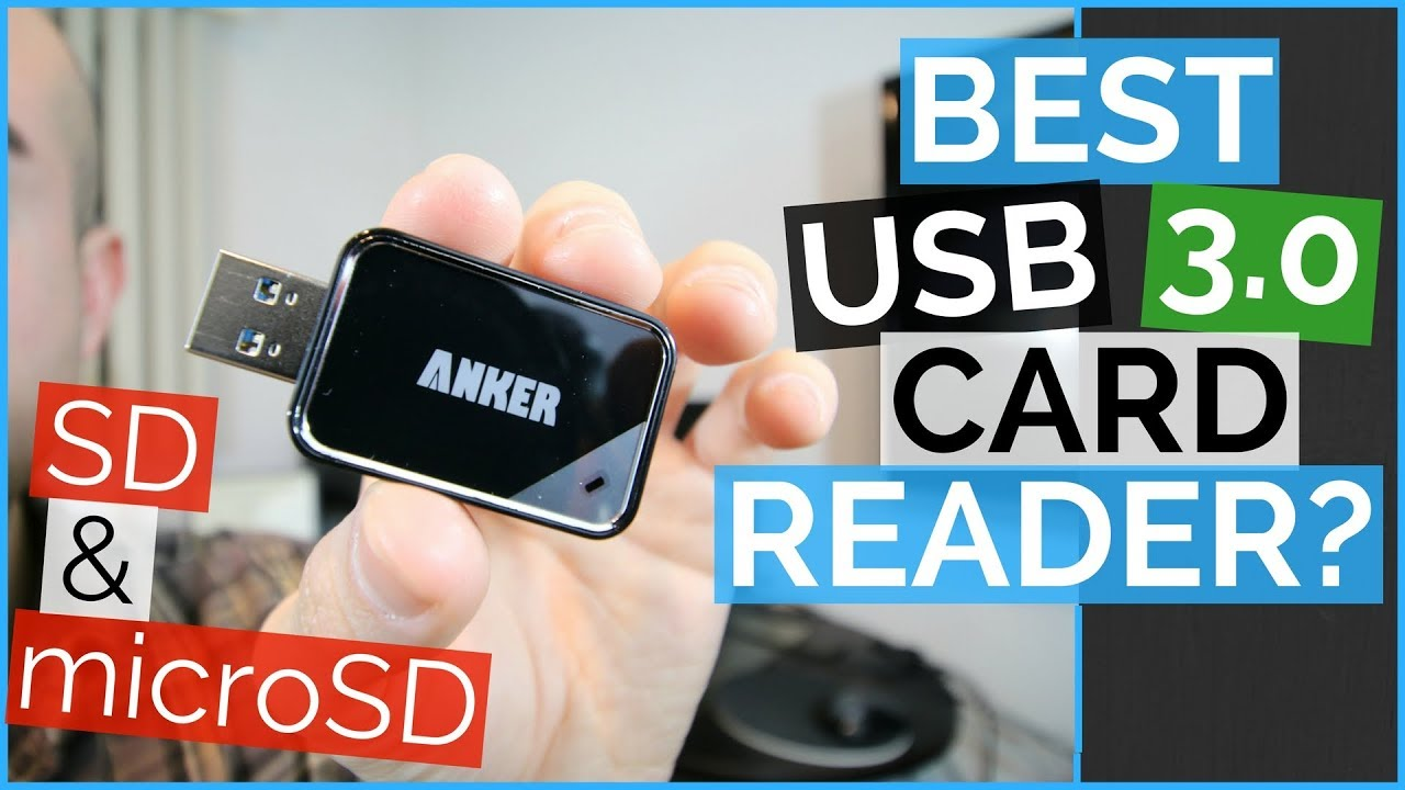 024eb2d81783 USB SD Card Reader - Anker USB 3.0 Card Reader 8-in-1 Review - YouTube