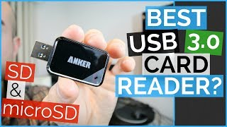 USB SD Card Reader - Anker USB 3.0 Card Reader 8-in-1 Review