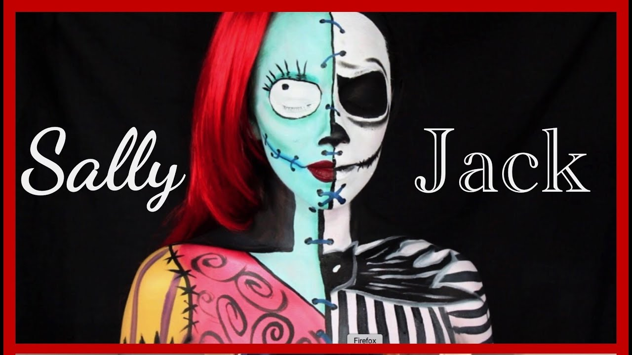 The Nightmare Before Christmas: Jack y Sally