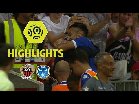 OGC Nice - ESTAC Troyes (1-2) - Highlights - (OGCN - ESTAC) / 2017-18