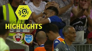OGC Nice - ESTAC Troyes (1-2) - Highlights - (OGCN - ESTAC) / 2017-18