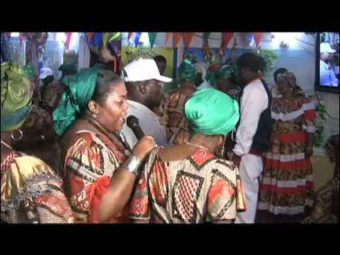 Petwo-Kongo rite: Possession by Agawou Wedo (Video 28)