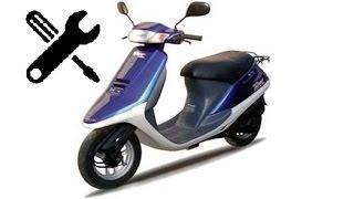 Ремонт скутера Honda Tact 24...