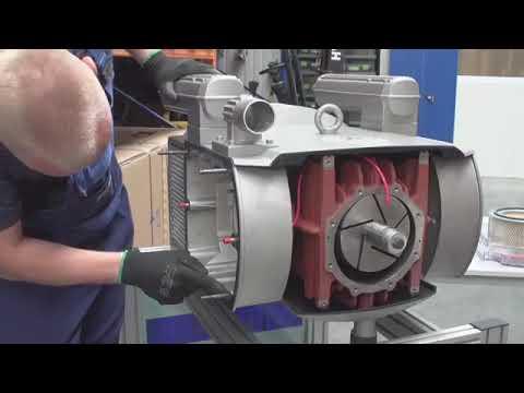 Замена графитовых лопаток в пластинчато роторных насосах