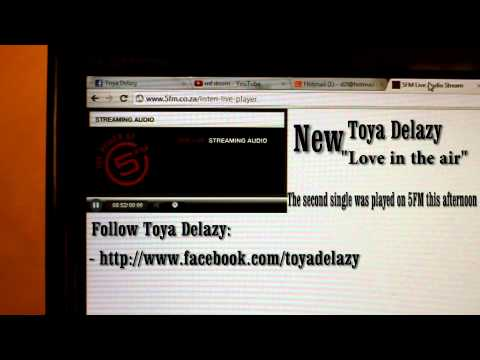 Toya Delazy - Love is in the air