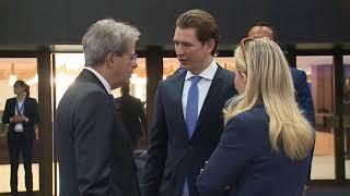 Il Presidente Gentiloni al vertice Ue - Balcani occidentali