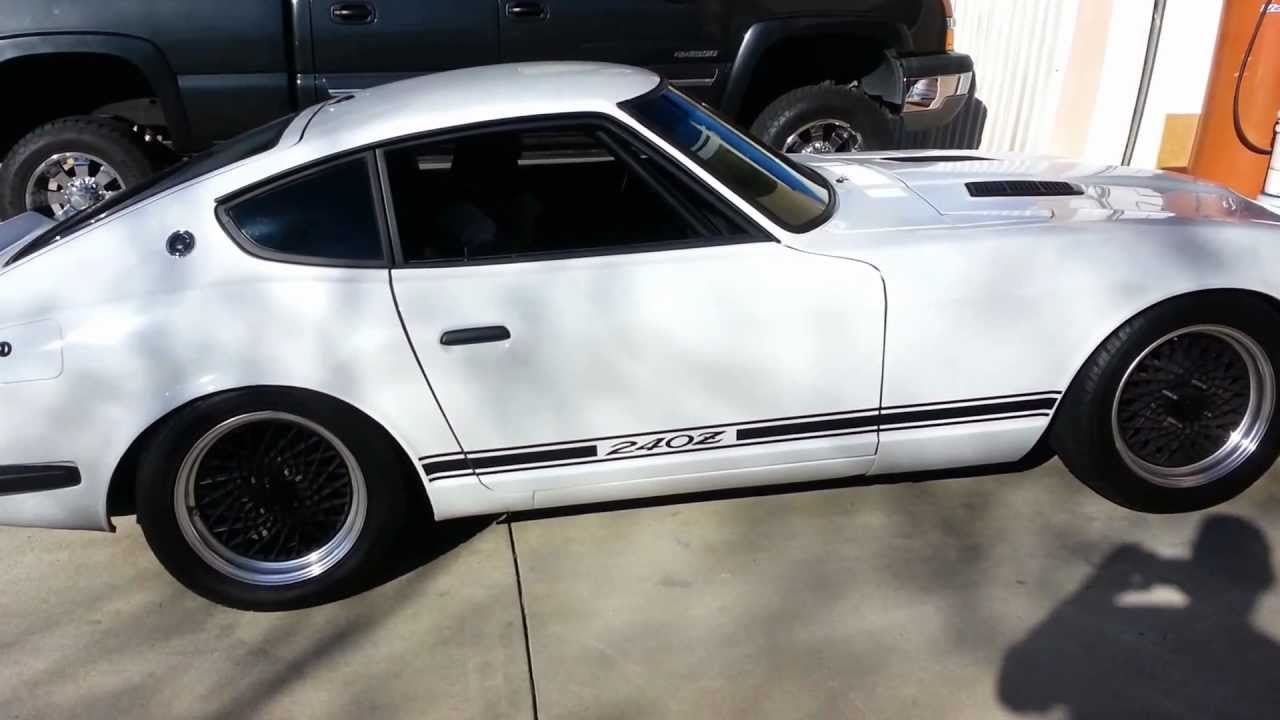 240z For Sale >> 1971 DATSUN 240 Z FOR SALE - YouTube
