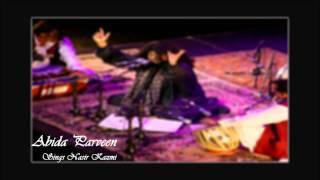 Abida Parveen - Shehar Sunsan Hai (Poet: Nasir Kazmi)