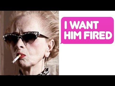 r/IDontWorkHereLady -  I 👏 WANT 👏 Him 👏 FIRED 👏