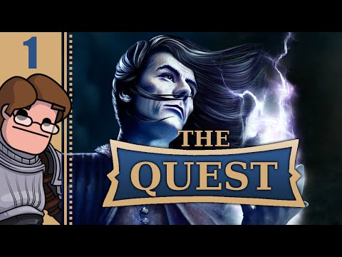 Let's Play The Quest PC Part 1 - Old School Dungeon Crawler Gameplay