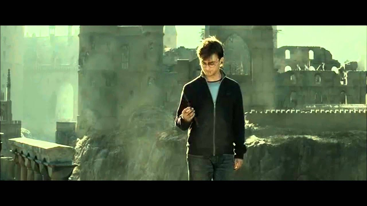 Harry potter and the deathly hallows part 2 ending scene for Harry potter deathly hallows wand