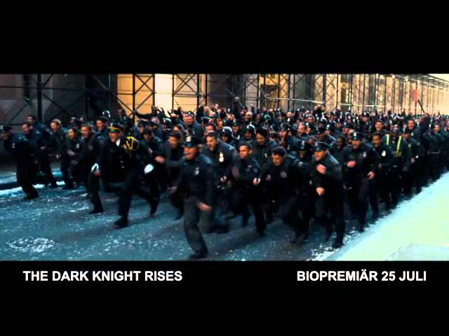 THE DARK KNIGHT RISES - BIOPREMIÄR 25 JULI - TV-spot 3