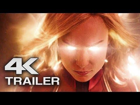 CAPTAIN MARVEL Trailer (4K ULTRA HD) 2019