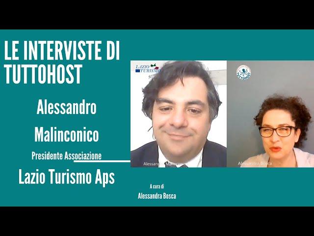 La situazione dal punto di vista di Lazio Turismo Aps esposta dal Presidente Alessandro Malinconico
